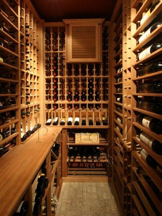 Another Format Option For A Small Sized Wine Cellar