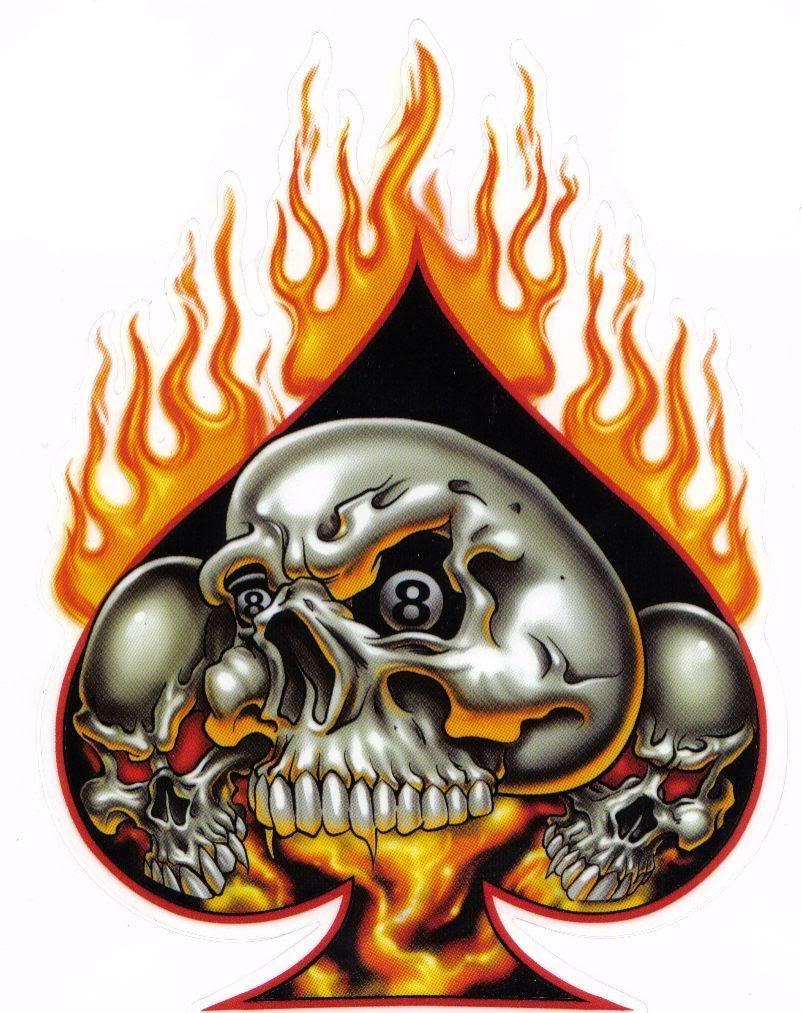 Flaming Skulls Car Seat Covers