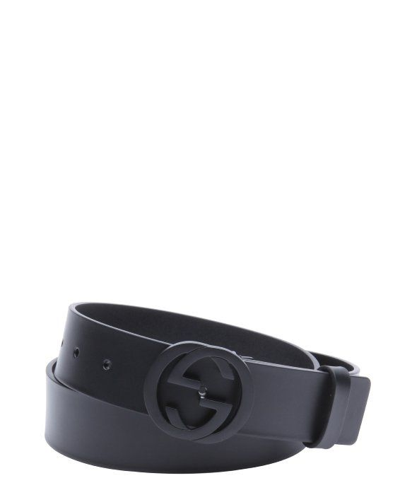 4ddaf131b7f Gucci black leather GG buckle belt Ceintures De Créateurs