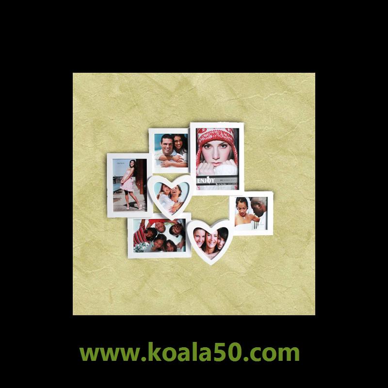 Portafotos Romántico con Corazones (7 fotos) - 7,11 € ¡Si buscas ...