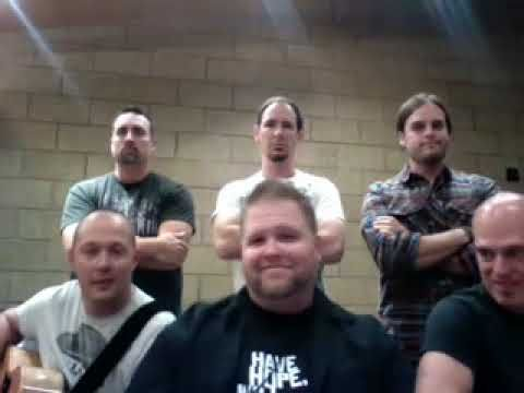 Yes, this is Mercyme singing Footloose. And it is hilarious. Watch it.