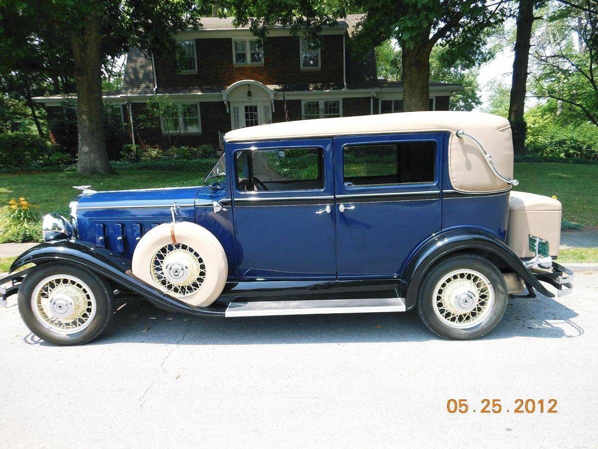 1931 hudson great 8 brougham image 1 of 9 hornetcars for saleimagehtmlclassic carstruckscar