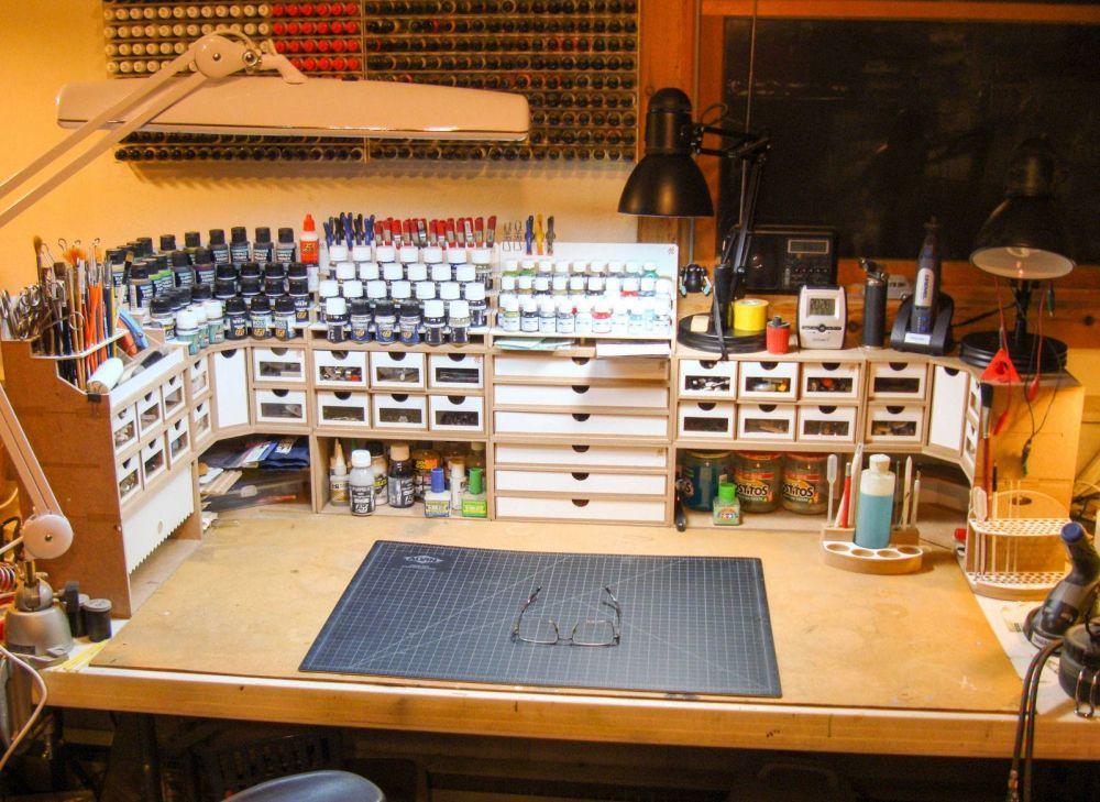 hobby zone workshop set up inspiration garage workshop. Black Bedroom Furniture Sets. Home Design Ideas