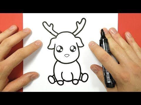 Comment Dessiner Un Bonhomme De Neige Kawaii Youtube