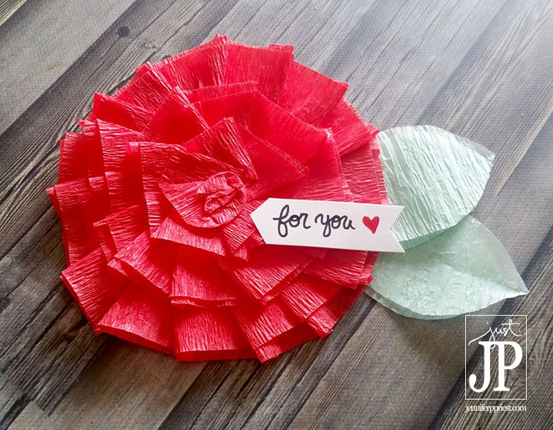How to make crepe paper flowers may flowers challenge mightylinksfo