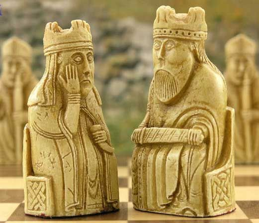 Chess archives origin of the lewis chessmen by dylan loeb mcclain excerpted art pinterest - Lewis chessmen set ...