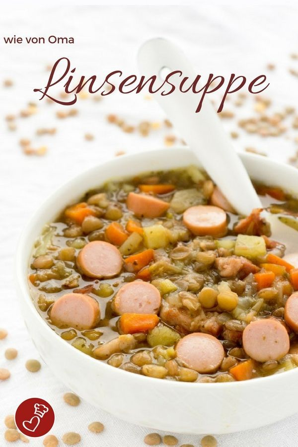 klassische linsensuppe recipe pinterest international food food and delicious food