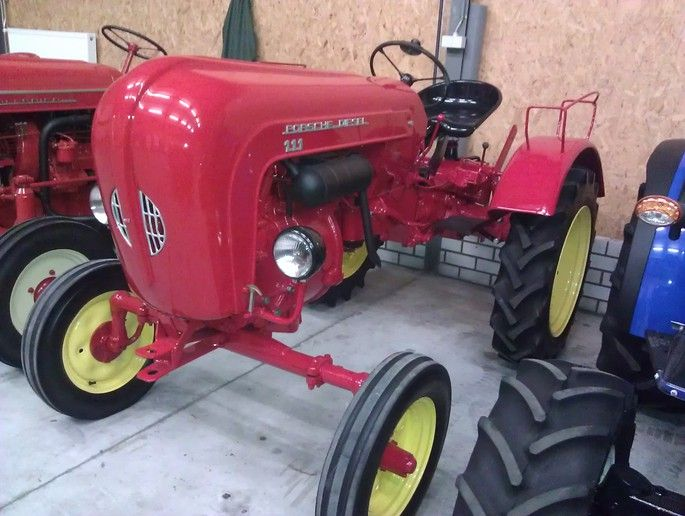 Porsche 111 diesel tractor - they must think it is worth as much as