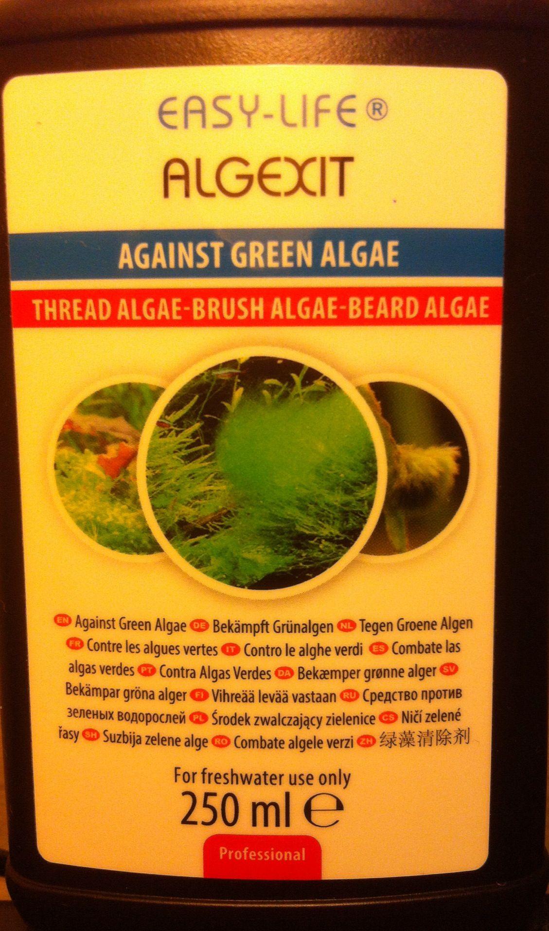 Destroying algae esp thread brush and beard algae By EASY LIFE
