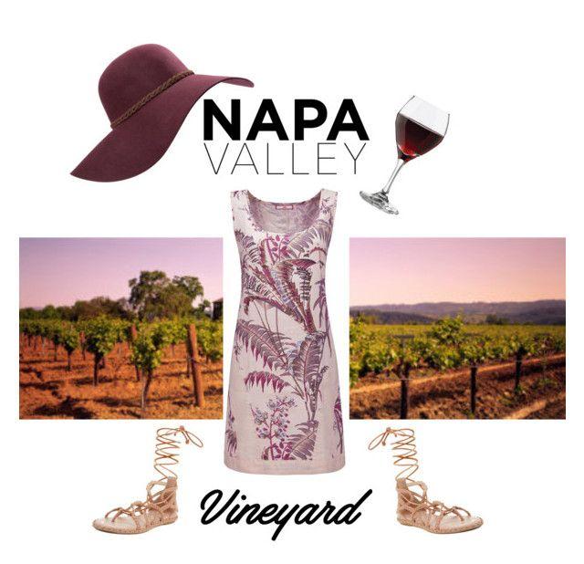 """Napa Valley"" by jdmplusarlever ❤ liked on Polyvore featuring Libbey, Billabong, Joe Browns, BCBGMAXAZRIA, napa, winerywedding, bestdressedguest and vineyardwedding"