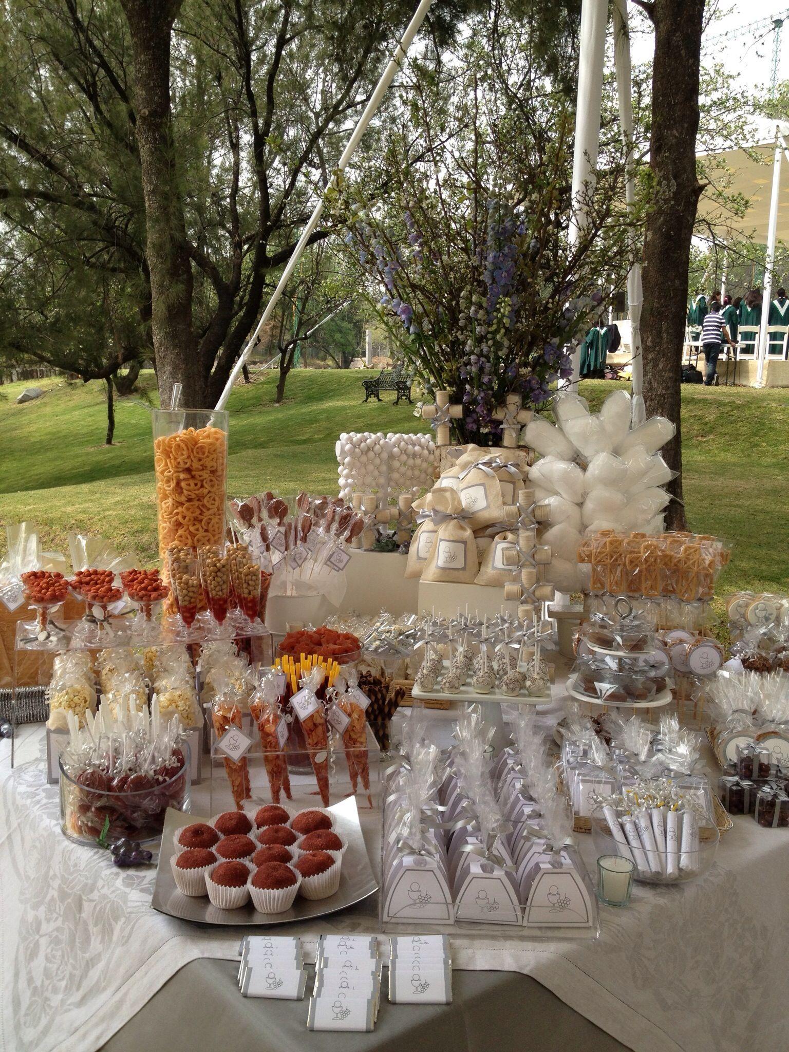Mesas de dulces - Mesas para buffet ...