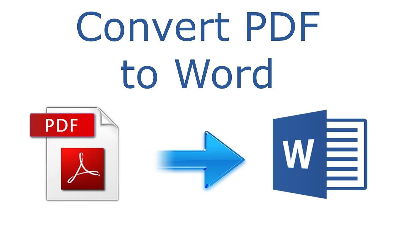 How To Convert Pdf To Word 2016 Tutorial Word Online Typing Jobs Online Converter