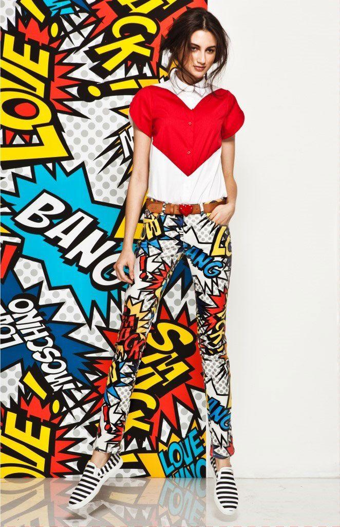 Love Moschino 2014春夏女裝Lookbook ‧ A Day Magazine 時尚生活雜誌