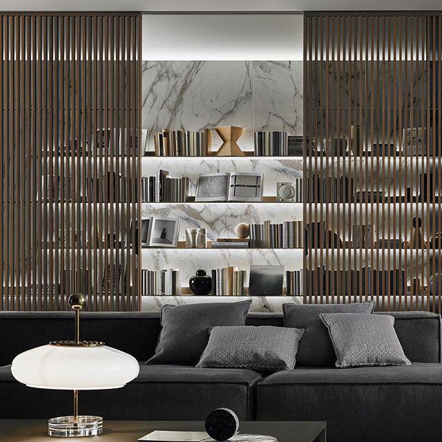 Divisores virtuales para separar el living del comedor y - Living room sliding doors interior ...