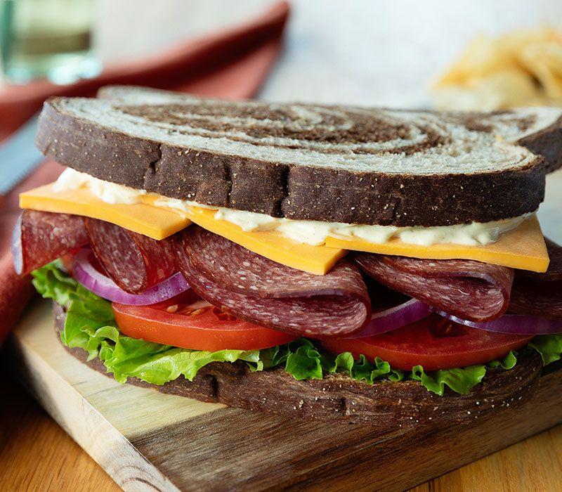 Cooper Cheese Lebanon Bologna Sandwich | Recipe in 2020 ...