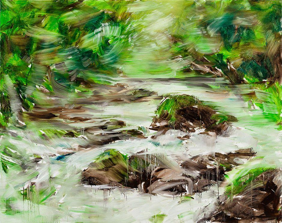 Black River Dark Fighters, 2014, Herbert Brandl