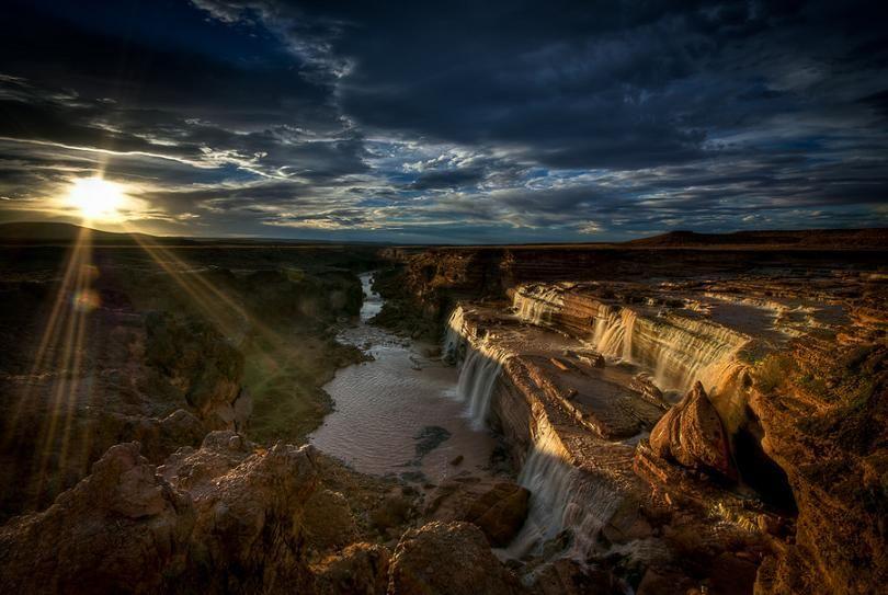 Grand Falls, (Arizona)