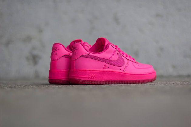 Nike Air Force 1 Low Gs Hyper Pink Vivid Pink Zapatos Ropa Y Accesorios Zapas