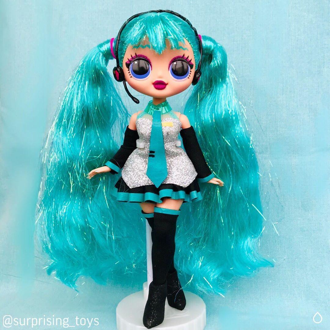 L.o.l Surprise OMG FASHION-Top Secret SWAG-grande LOL bambola con capelli