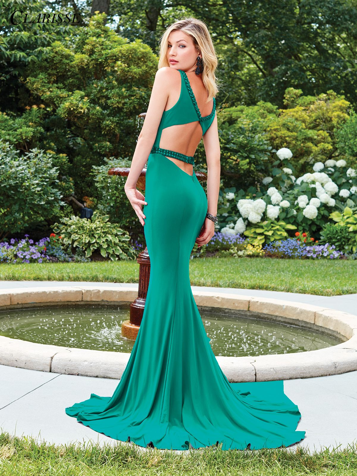 Jewel Tone Fitted Prom Dress 3492   2 Colors   Fitted prom dresses ...