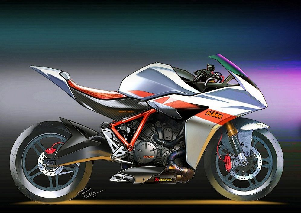 K T M On Behance Bike Sketch Motorcycle Drawing Concept