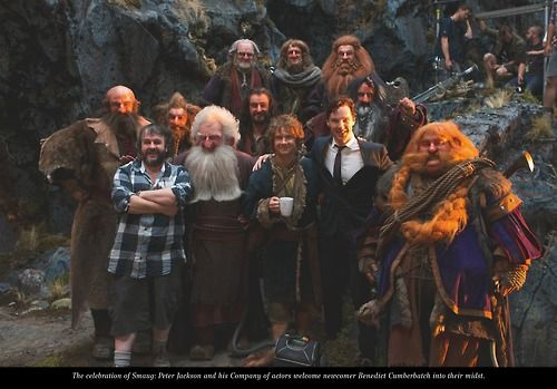 Ben with his buddies from the Shire