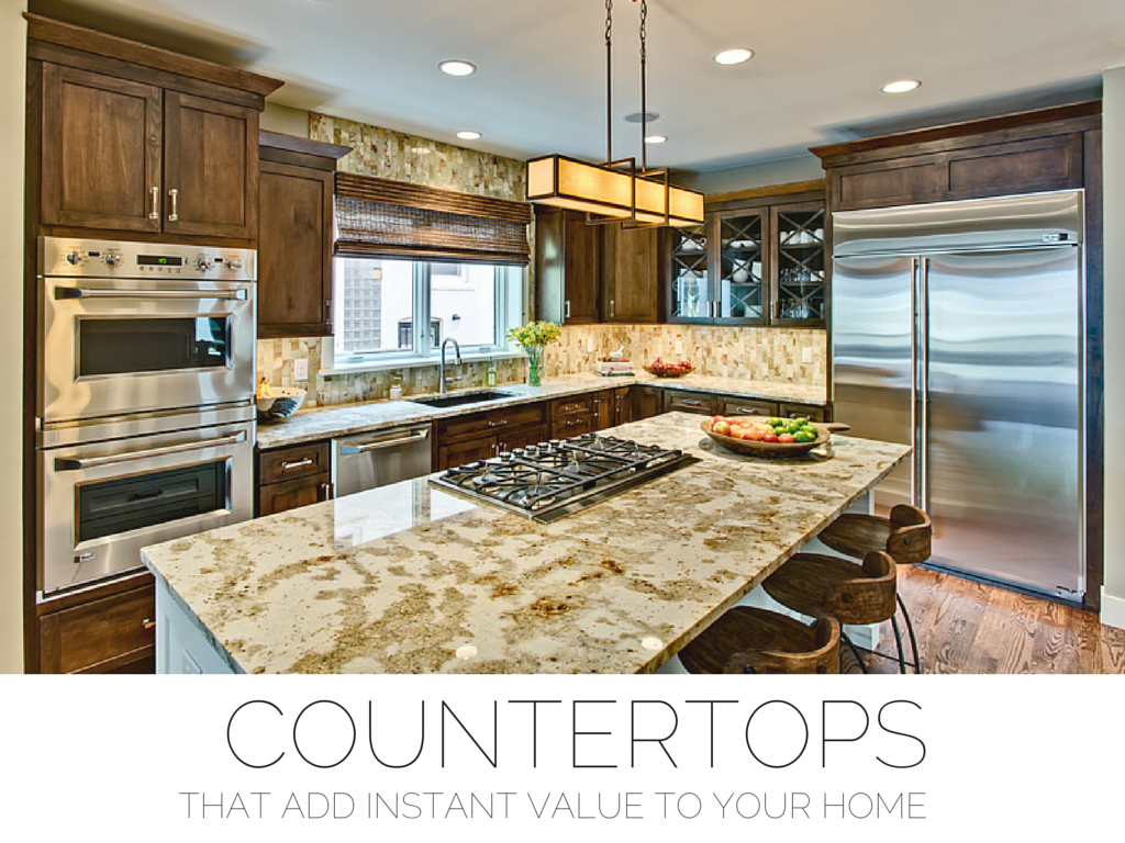 Selecting The Right Countertop Is Essential When Investing In Your Kitchen.  Make Sure It Is