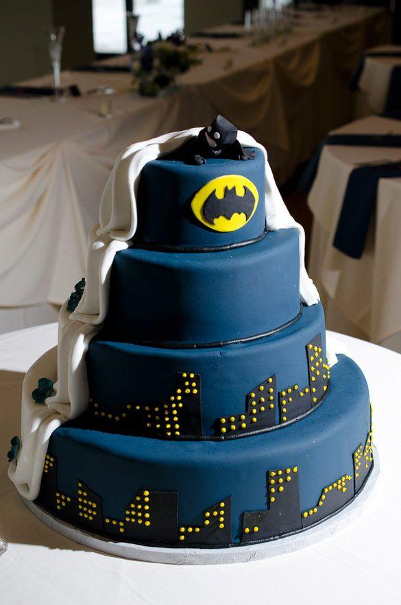 Pasteles De Boda Batman En Pinterest