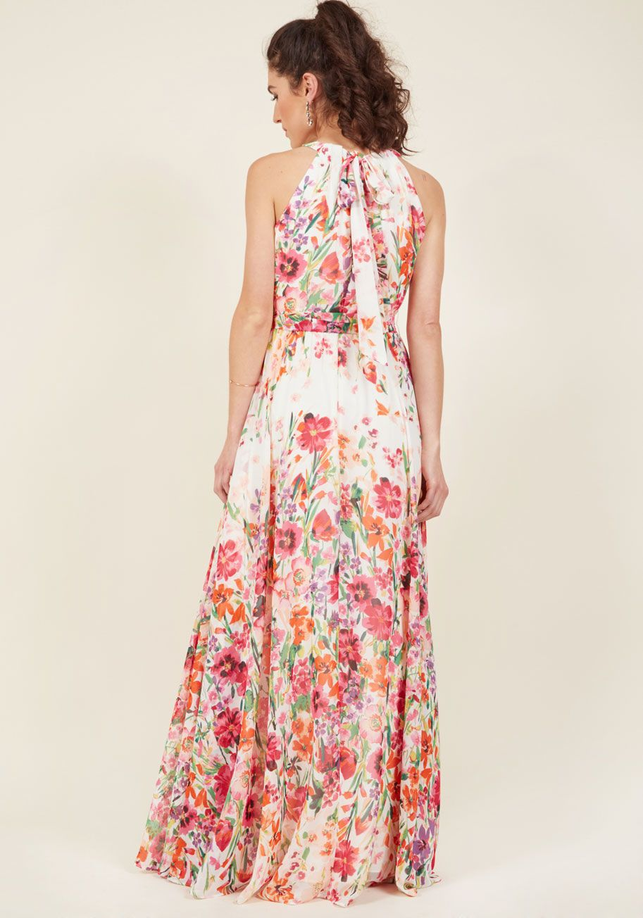 Eliza J Ever-Flowing Elegance Maxi Dress in 12