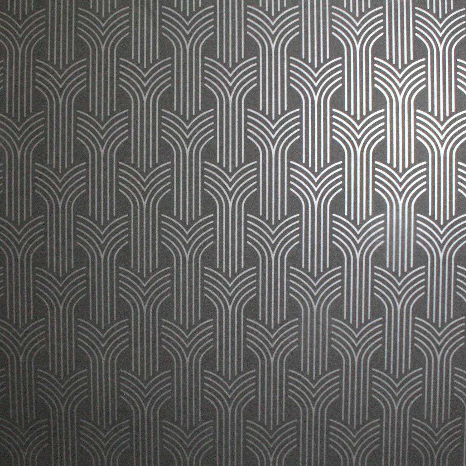 Graham And Brown Superfresco Easy Cinema Black And Silver Wallpaper
