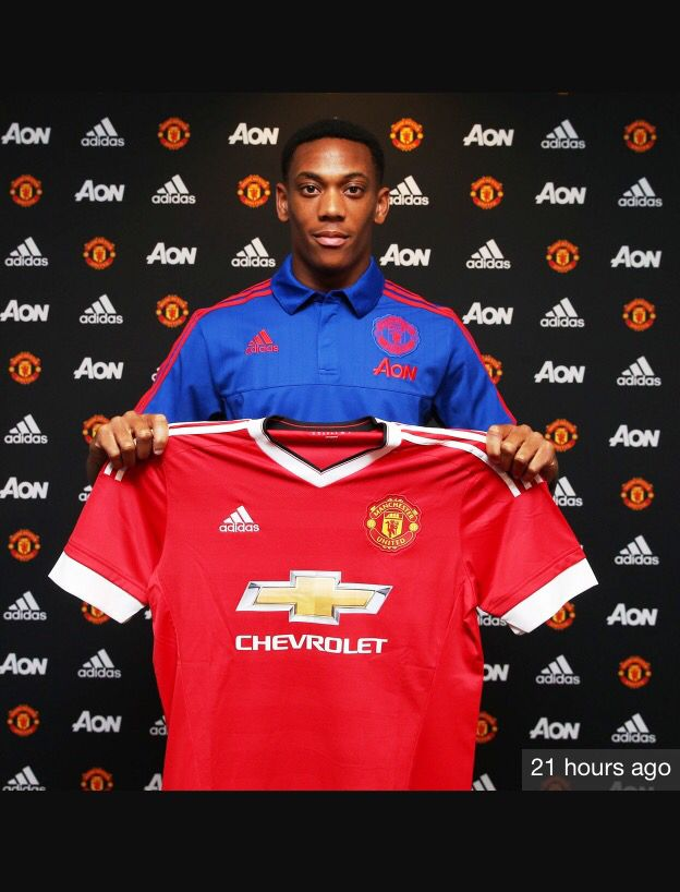 United New No 9 Martial Manchester United Soccer Manchester United Anthony Martial