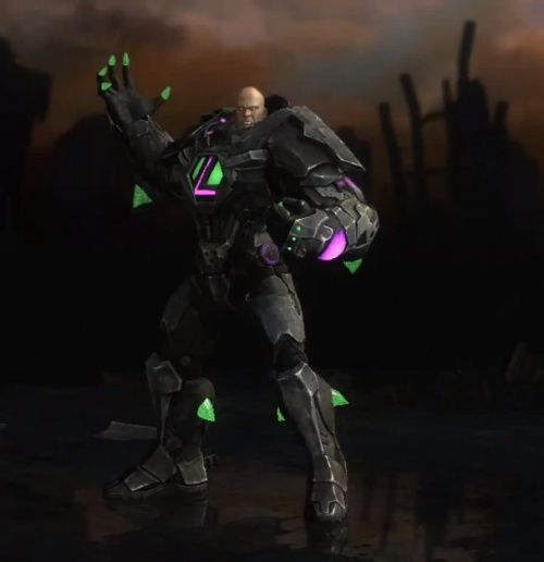 Lex Luthor Kryptonite Suit Complete All S T A R Lab Missions Character Costumes Lex Luthor Cool Artwork
