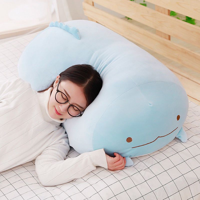 Pillow Japanese Big Gurashi Plush Toys Corner Birthday Girls Gift 90cm 60cm 28cm