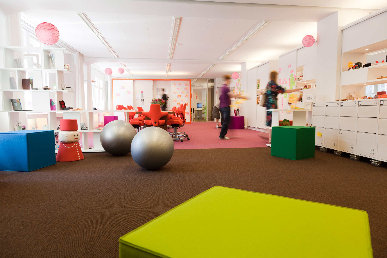 Sneakpeak into Telekom Creation Center in Berlin Created