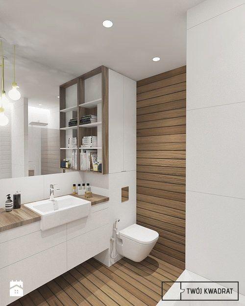Modernes Haus-Innenarchitektur-Badezimmer