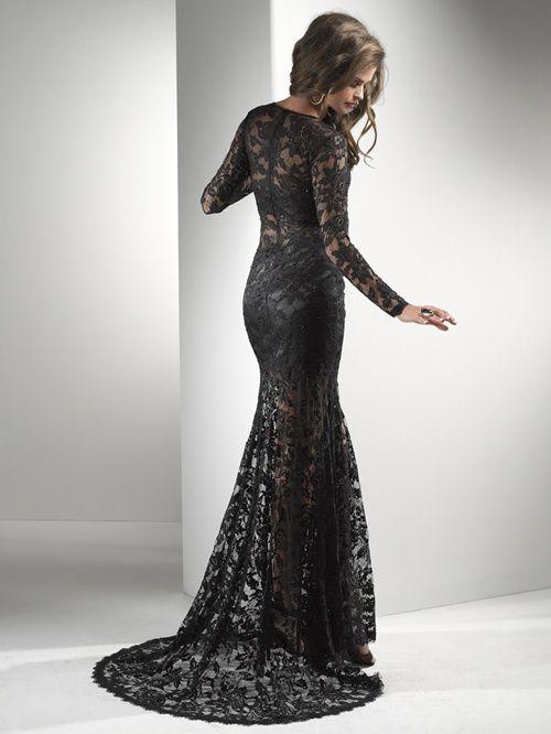 vintage black lace wedding dresses - Google Search | Wedding Gowns ...