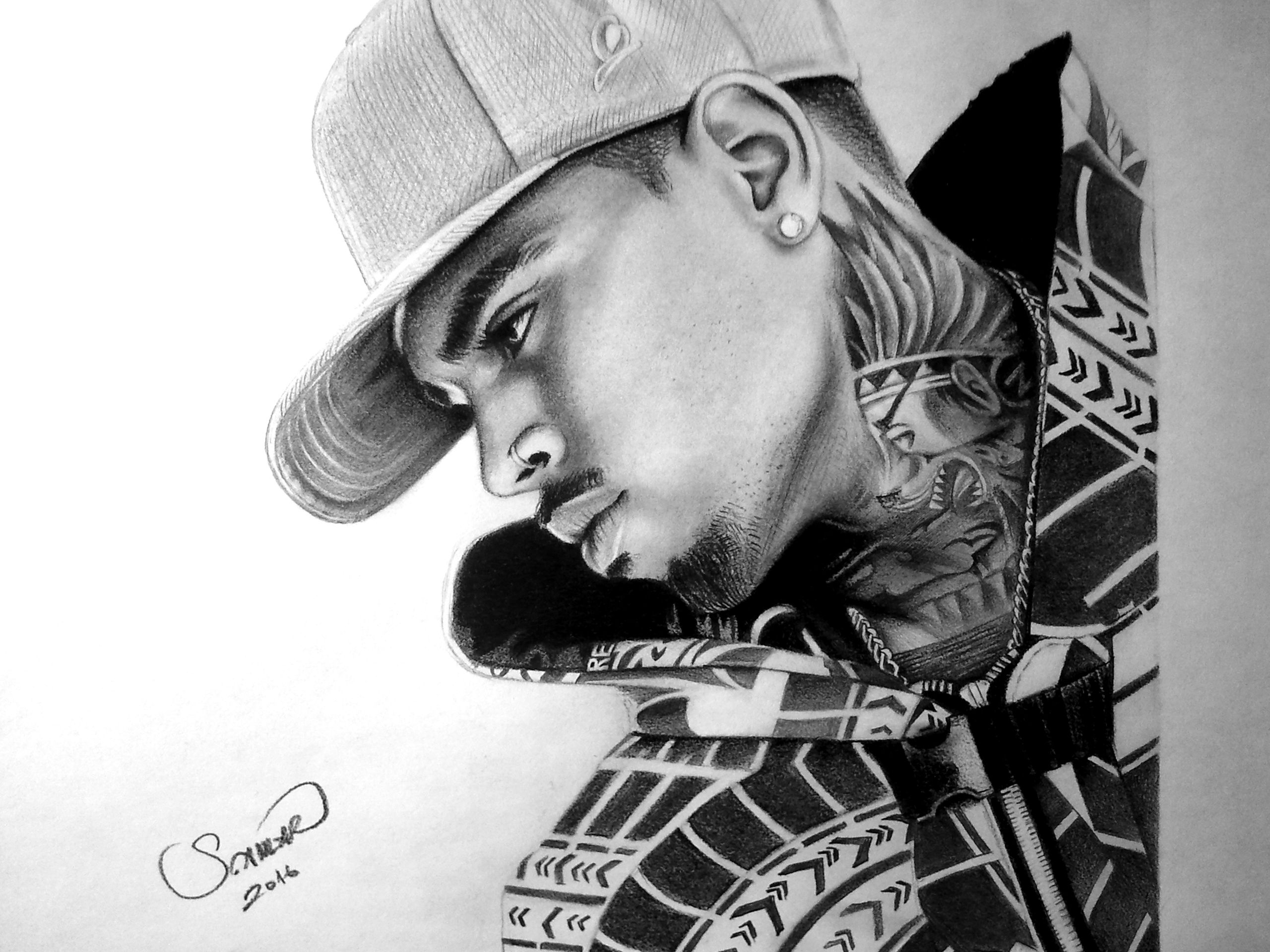 Chris brown a4 8b 2b pencil work my drawing collection chris brown a4 8b 2b pencil work altavistaventures Images