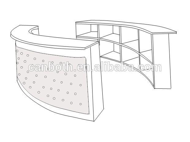 Source Manicure Bar/nail Bar/manicure Bar Table CB M750 On M.