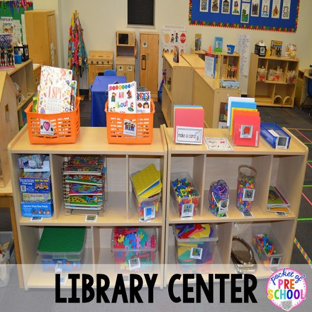 Science Classroom Design Ideas: Library Center Is A Perfect Place For Tons Of Letter