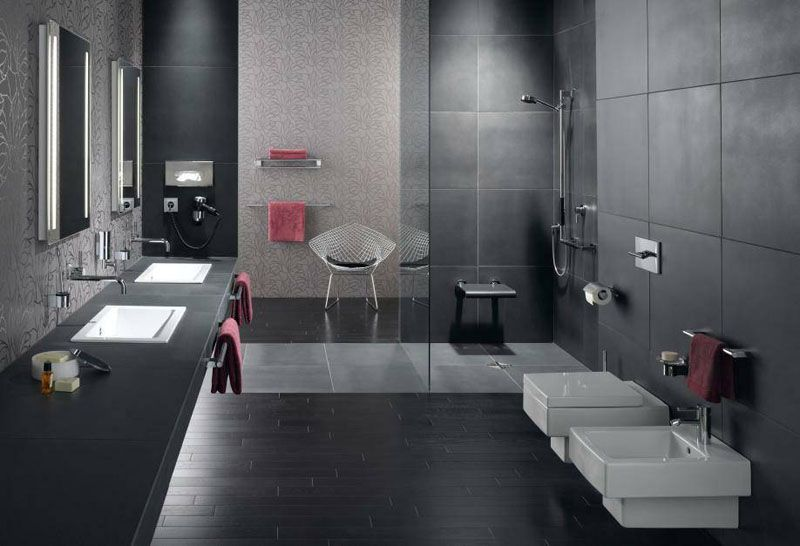 Image Result For German Bathrooms Wall And Floor Tiles Home Outdoor Toilet