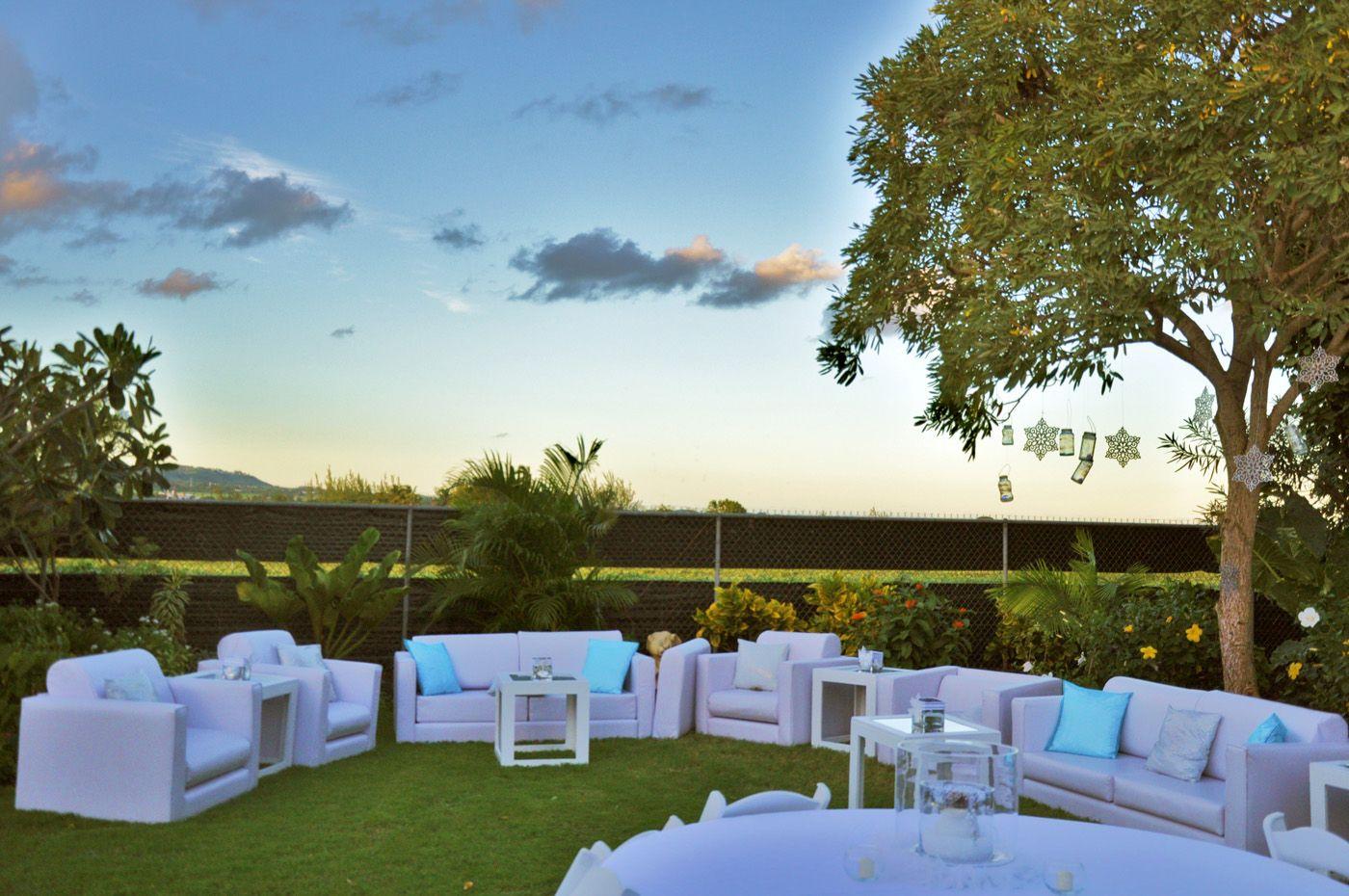 Emma Corrie Designs Barbados Wedding Modern Outdoor