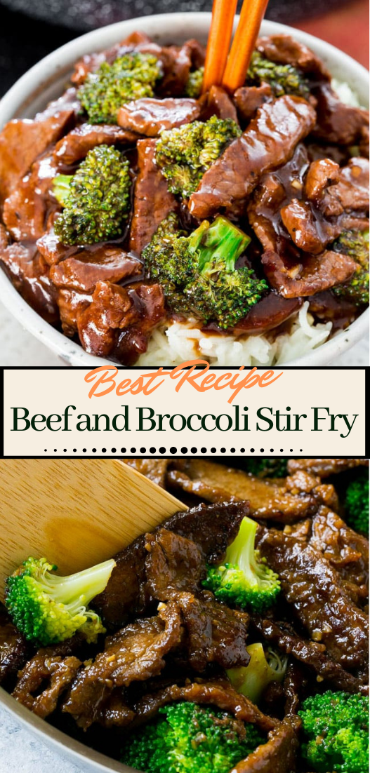 Beef and Broccoli Stir Fry #dinnerrecipe #food #amazingrecipe #easyrecipe #healthystirfry