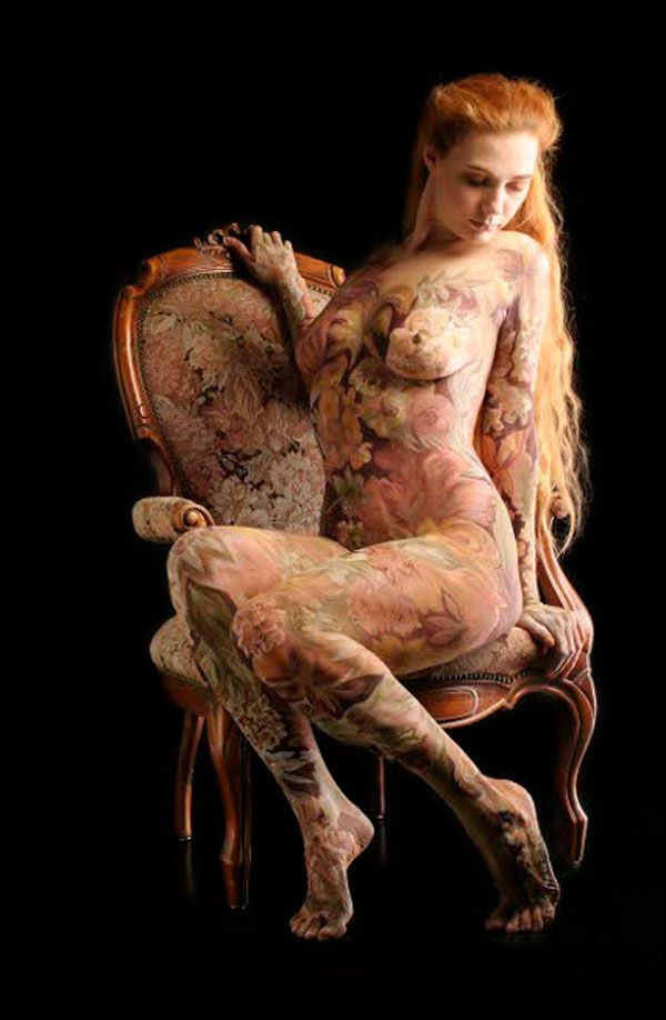 Unlike tattoo and other forms of body art body painting