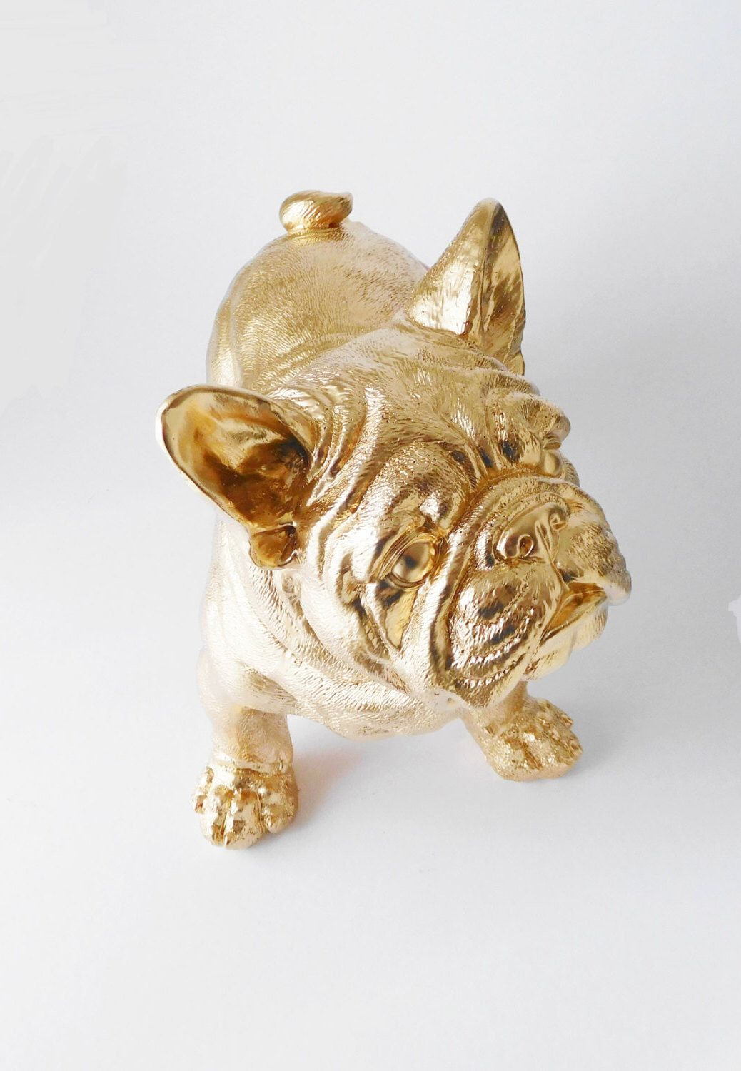 Bouledogue Decoration Design French Bulldog Bulldog Statue Canine Dog Frenchie