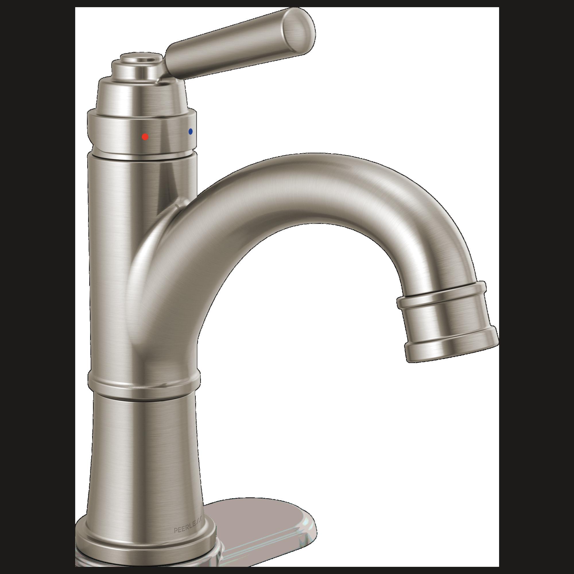 Peerless Faucet P1523lf Bn Single Handle Bathroom Faucet Brushed Nickel Kitchenfaucet4 Bathroom Faucets Best Bathroom Faucets Bathroom Faucets Brushed Nickel