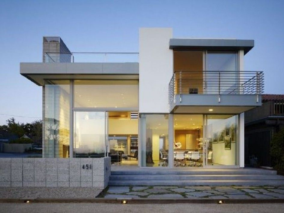 Exterior Modern House Style Act House Design