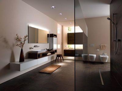 6 belles salles de bains minimalistes Bathroom designs, Interiors - prix carrelage salle de bain