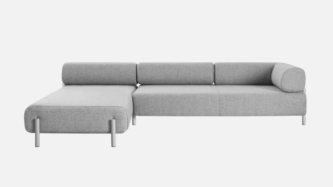 Hem Palo Corner Sofa Right Grey | Sofas - Renovation of our house ...