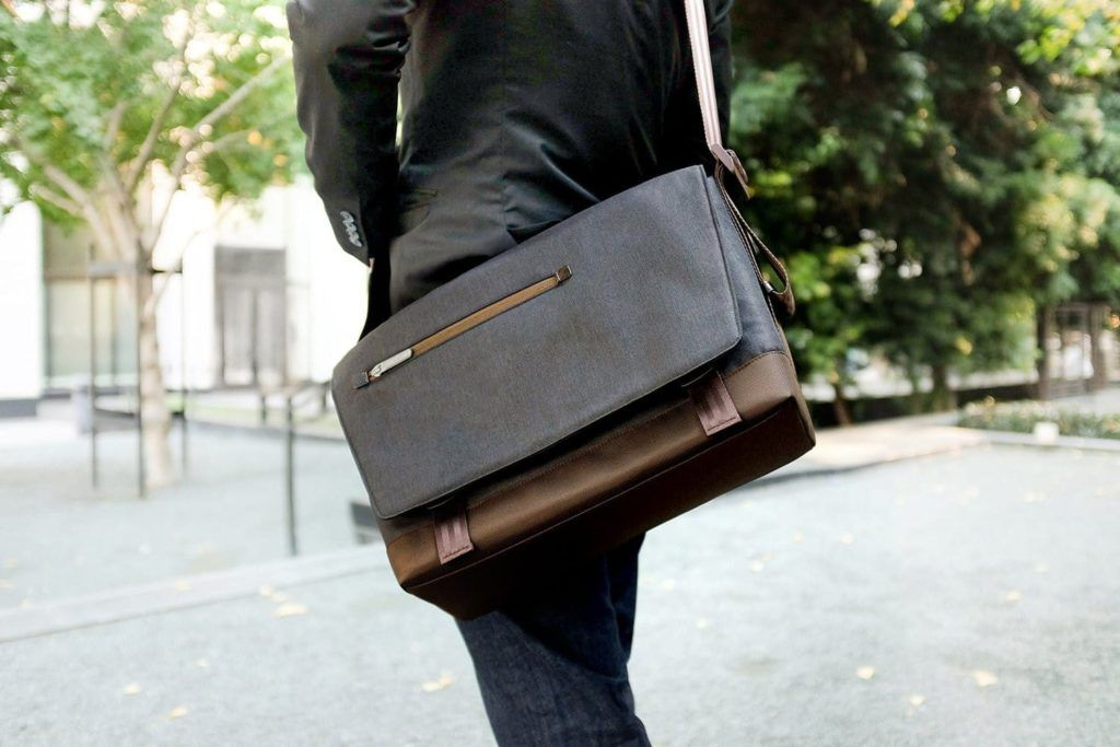 Comfortably carry your laptop around with the HP Moshi Aerio Lightweight  Messenger Bag 7c6d2a92dc