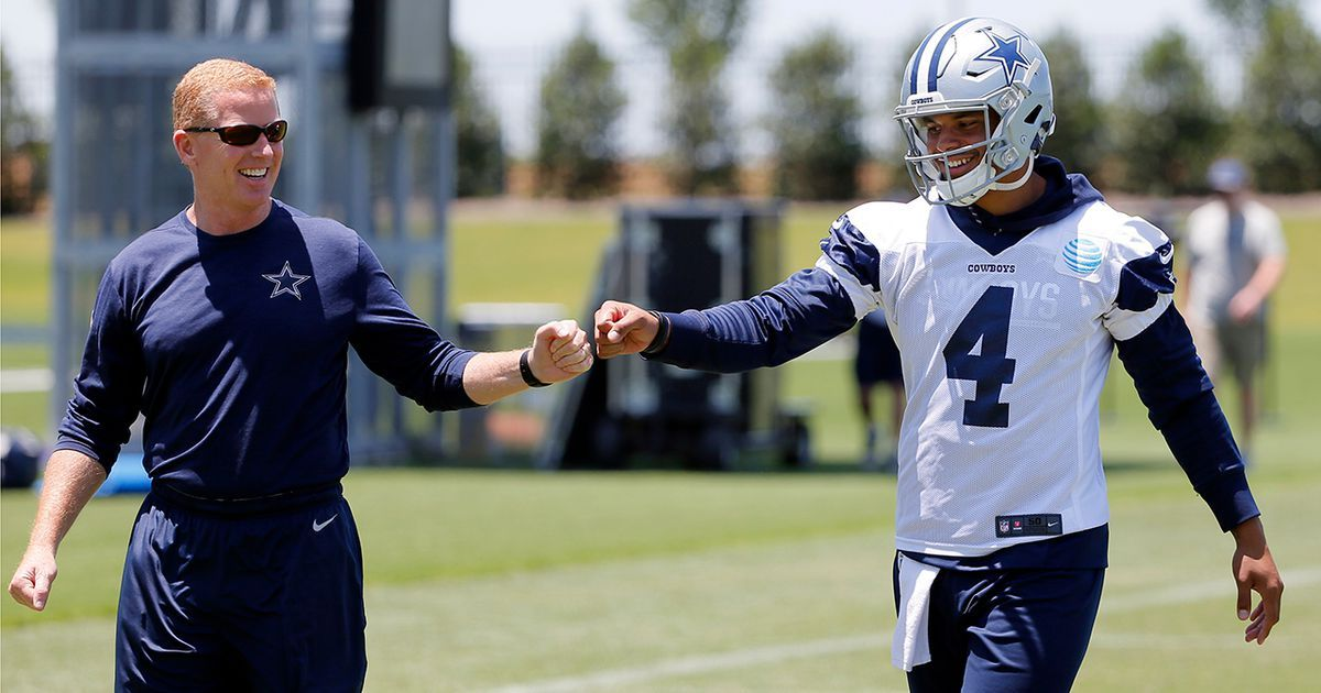 PHOTOS 2017 Dallas Cowboys OTAs Nfl, Camping activities